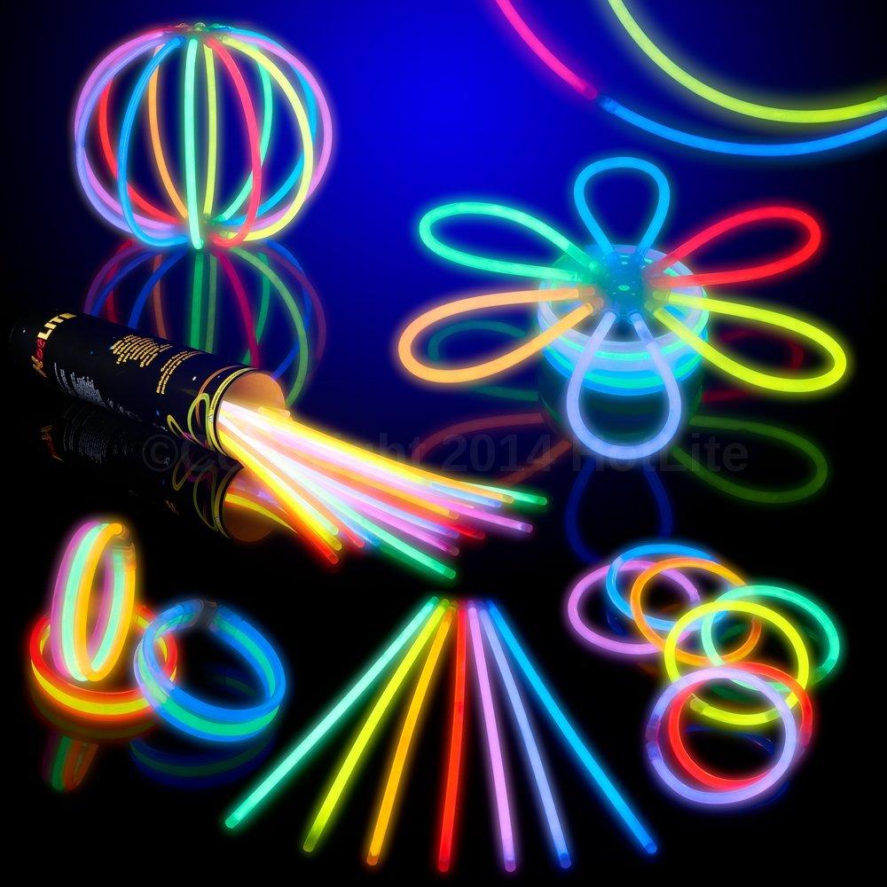 100 8″ Glow Sticks